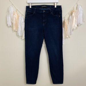 LIVERPOOL The Hugger Skinny Jeans Dark Wash